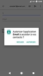 Sony Xperia XZ - Android Oreo - E-mail - envoyer un e-mail - Étape 4