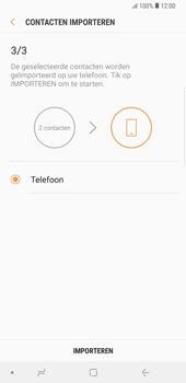 Samsung galaxy-note-9-sm-n960f - Contacten en data - Contacten kopiëren van SIM naar toestel - Stap 13