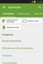 Samsung Galaxy Fame - Aplicações - Como pesquisar e instalar aplicações -  6