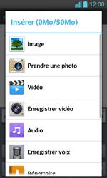 LG P710 Optimus L7 II - E-mail - envoyer un e-mail - Étape 10