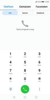 Huawei Mate 10 Pro - Voicemail - handmatig instellen - Stap 4