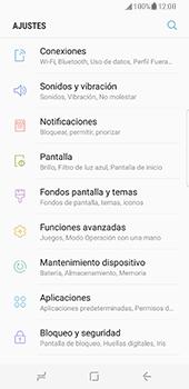 Samsung Galaxy S8 - Red - Seleccionar una red - Paso 4