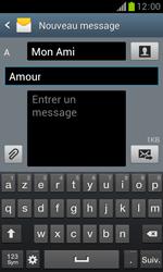 Samsung Galaxy Trend - Contact, Appels, SMS/MMS - Envoyer un MMS - Étape 12