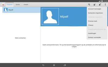 Sony Xperia Tablet Z2 4G (SGP521) - Contacten en data - Contacten kopiëren van SIM naar toestel - Stap 6