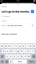 Apple iPhone 6s - iOS 13 - Email - Sending an email message - Step 7