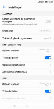 Huawei Mate 10 Lite (Model RNE-L21) - Voicemail - Handmatig instellen - Stap 5