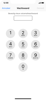 Apple iPhone X - Voicemail - Visual Voicemail - Stap 8