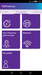 Huawei Y6 II - Applications - MyProximus - Step 19