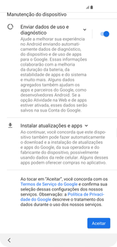 Samsung Galaxy S10 - Primeiros passos - Como ativar seu aparelho - Etapa 13