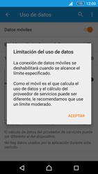 Sony Xperia M5 (E5603) - Internet - Ver uso de datos - Paso 9