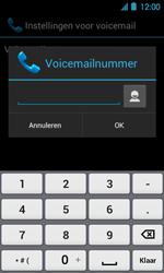 Acer Liquid Glow E330 - Voicemail - Handmatig instellen - Stap 8