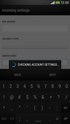 HTC Desire 601 - Email - Manual configuration - Step 14
