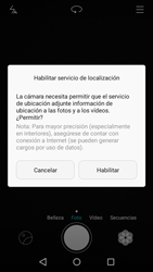 Huawei P8 Lite - Funciones básicas - Uso de la camára - Paso 3