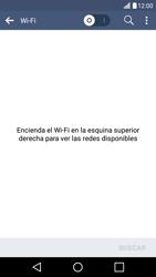 LG K10 4G - WiFi - Conectarse a una red WiFi - Paso 6