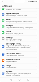 Huawei P20 Lite - Software update - update installeren zonder PC - Stap 3