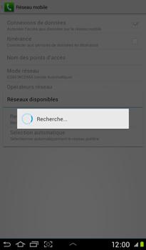 Samsung P3100 Galaxy Tab 2 7-0 - Réseau - utilisation à l'étranger - Étape 10