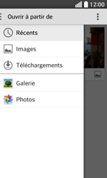 LG F70 - E-mails - Envoyer un e-mail - Étape 13