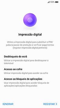 Huawei Mate 9 - Primeiros passos - Como ligar o telemóvel pela primeira vez -  19