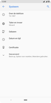 Nokia 9 - Toestel - Software update - Stap 6