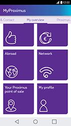 LG X Cam - Applications - MyProximus - Step 16
