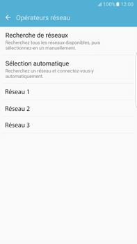 Samsung Samsung G928 Galaxy S6 Edge + (Android M) - Réseau - Sélection manuelle du réseau - Étape 8