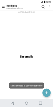 LG G6 - E-mail - Escribir y enviar un correo electrónico - Paso 19