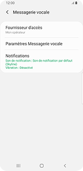 Samsung Galaxy S9 Android Pie - Messagerie vocale - configuration manuelle - Étape 9