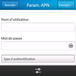 BlackBerry Q5 - Internet - configuration manuelle - Étape 11