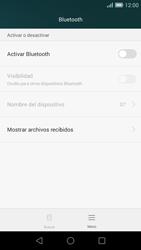 Huawei Ascend G7 - Bluetooth - Conectar dispositivos a través de Bluetooth - Paso 5