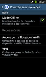 Samsung Galaxy Grand Neo - Rede móvel - Como ativar e desativar o modo avião no seu aparelho - Etapa 7