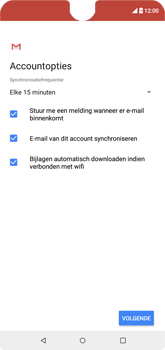 Wiko View 2 - E-mail - e-mail instellen (outlook) - Stap 10
