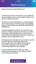 Apple iPhone 5c iOS 9 - Applicaties - MyProximus - Stap 11