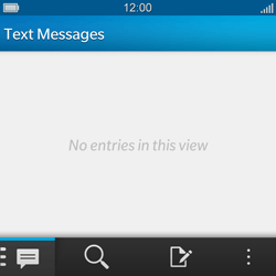 BlackBerry Q5 - SMS - Manual configuration - Step 3
