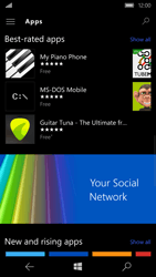 Microsoft Lumia 650 - Applications - Download apps - Step 11
