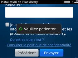 BlackBerry 9720 Bold - BlackBerry activation - BlackBerry ID activation - Étape 13