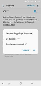Samsung Galaxy J6 - Internet et connexion - Connexion avec un équipement multimédia via Bluetooth - Étape 9