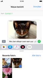 Apple iPhone 6 - iOS 12 - MMS - hoe te versturen - Stap 12