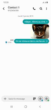 Samsung Galaxy A20e - MMS - envoi d'images - Étape 23