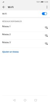 Huawei P20 Pro Android Pie - Wi-Fi - Se connecter à un réseau Wi-Fi - Étape 6