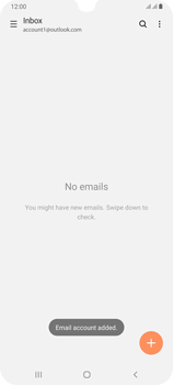 Samsung Galaxy A70 - E-mail - Manual configuration (outlook) - Step 11