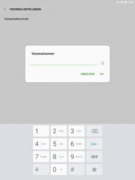Samsung Galaxy Tab S2 9.7 - Android Nougat - Voicemail - Handmatig instellen - Stap 9