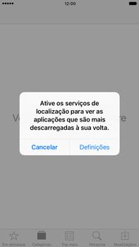 Apple iPhone 7 Plus - Aplicações - Como pesquisar e instalar aplicações -  4
