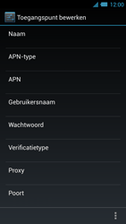 Acer Liquid S2 - Internet - Handmatig instellen - Stap 15