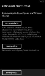 Nokia Lumia 1020 - Primeiros passos - Como ativar seu aparelho - Etapa 4