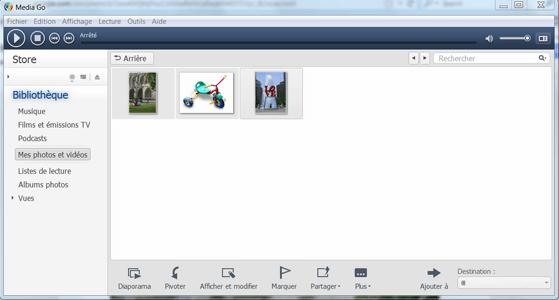 Sony Xperia XZ1 - Photos, vidéos, musique - Récupérer vos contenus multimédias avec un ordinateur - Étape 8