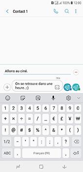 Samsung Galaxy J6 - Contact, Appels, SMS/MMS - Envoyer un MMS - Étape 13