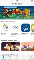 Apple iPhone iOS 10 - Aplicativos - Como baixar aplicativos - Etapa 3