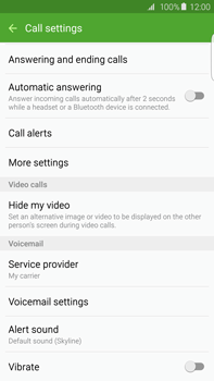 Samsung G928F Galaxy S6 Edge + - Voicemail - Manual configuration - Step 6