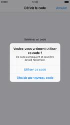 Apple iPhone 7 - Sécuriser votre mobile - Activer le code de verrouillage - Étape 6