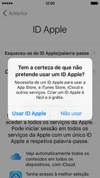 Apple iPhone 5s iOS 9 - Primeiros passos - Como ligar o telemóvel pela primeira vez -  19